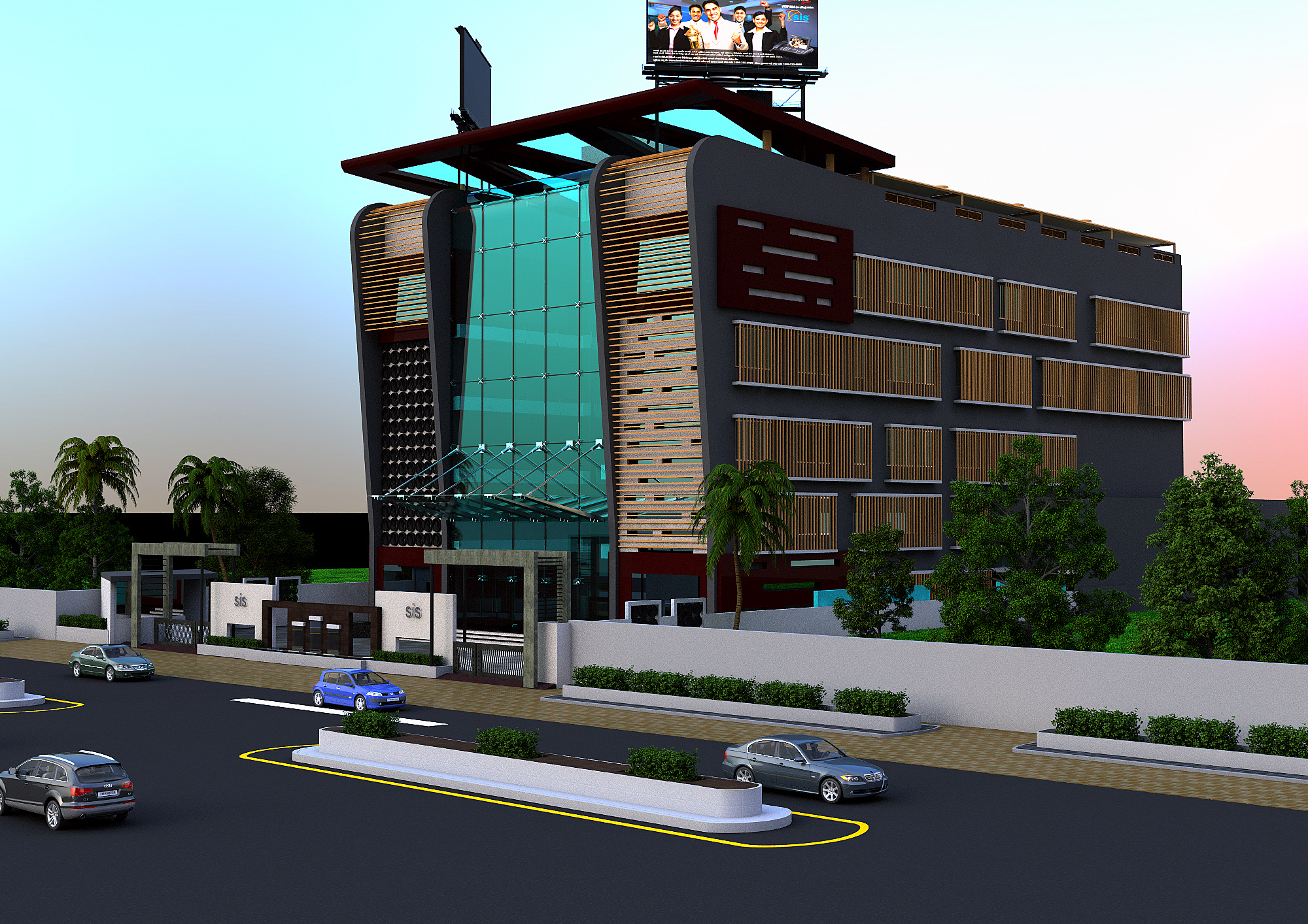 CORPORATE HOUSE FOR SAI INFO SYSTEM AT GOTA AHMEDABAD